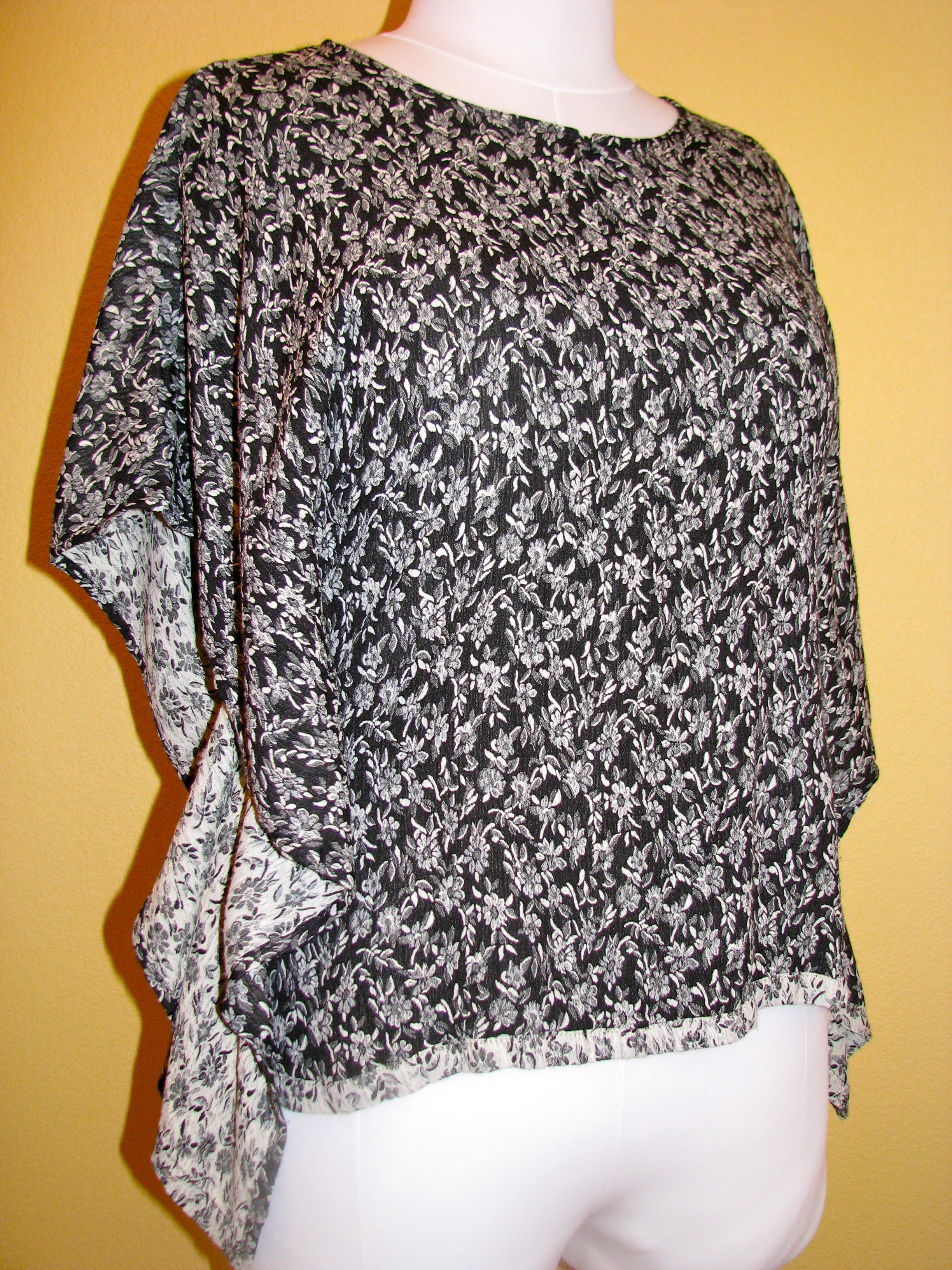 Easy Batwing Top Pattern