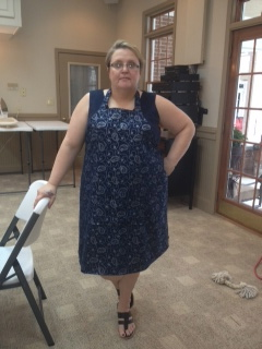Beth's Apron, Sewing 101 Project