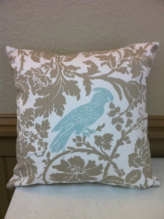 Zippered Throw Pillow