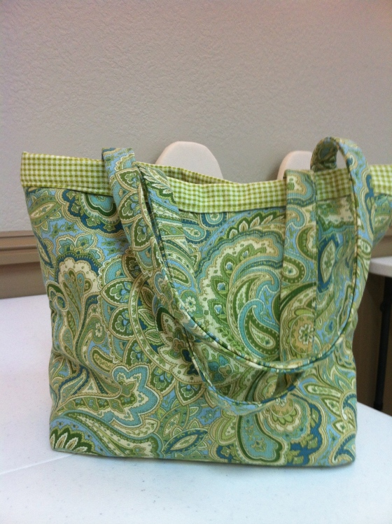 Here is another student-made tote bag!