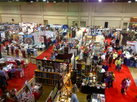 The Expo is always busy and exciting!