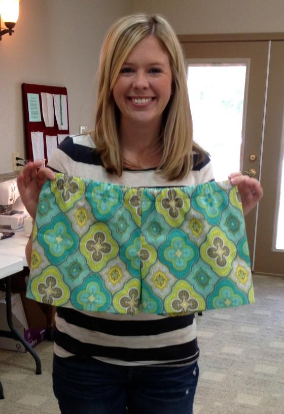 Kathleen's pajama shorts